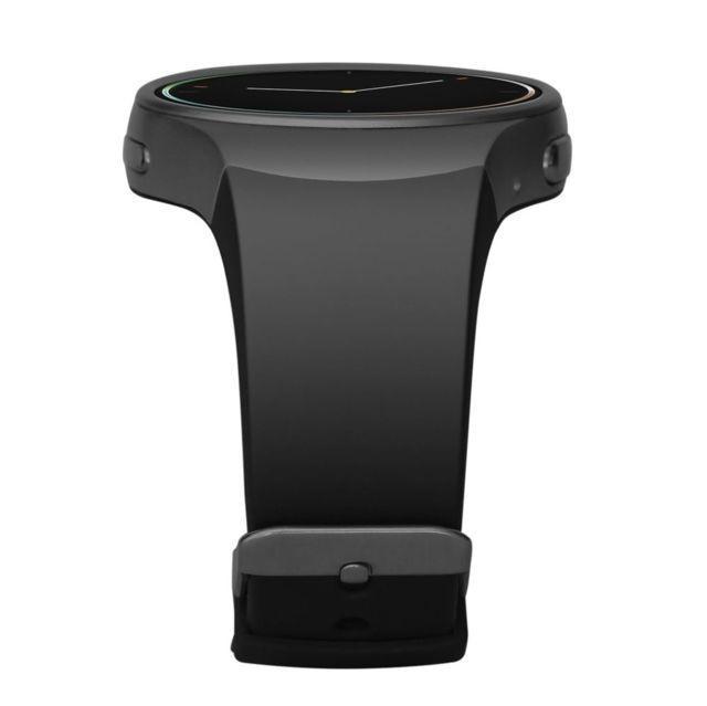 KingWear KW18 pulzusmérős okosóra, fekete