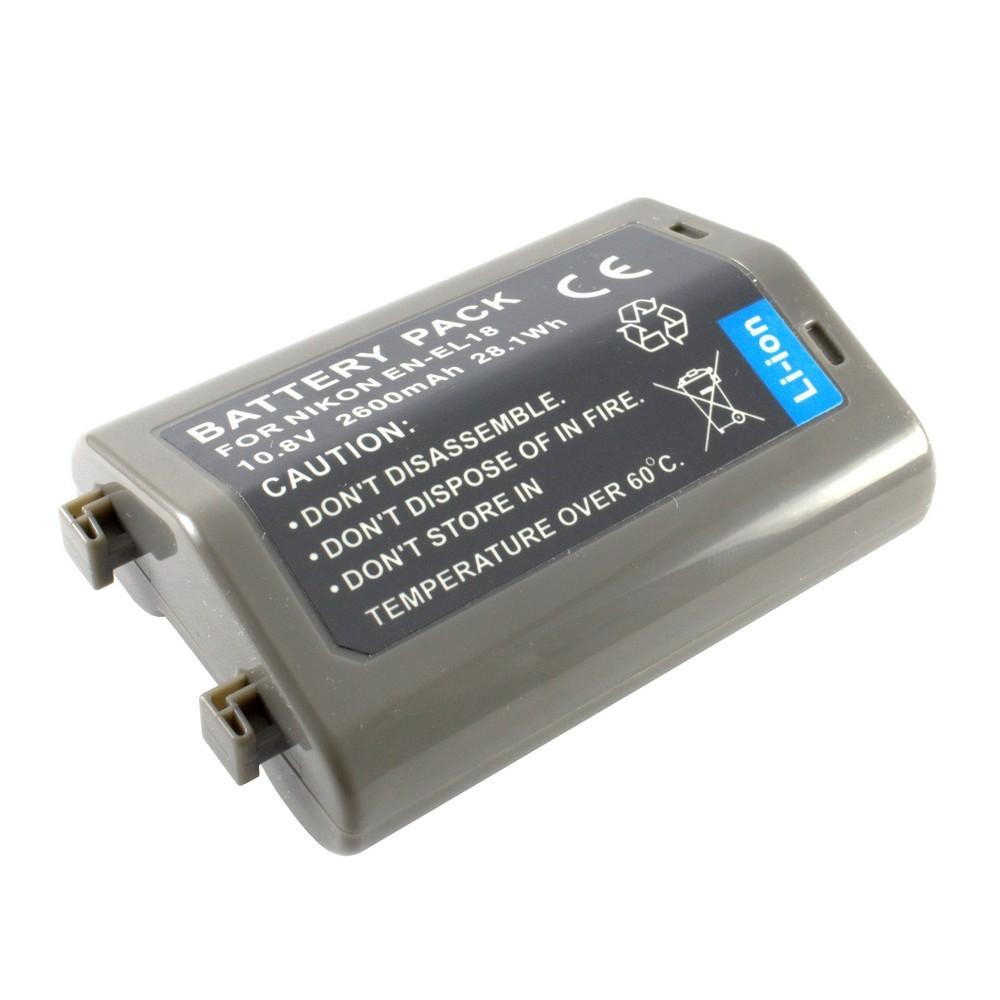 Nikon EN-EL18  akkumulátor 2600mAh utángyártott