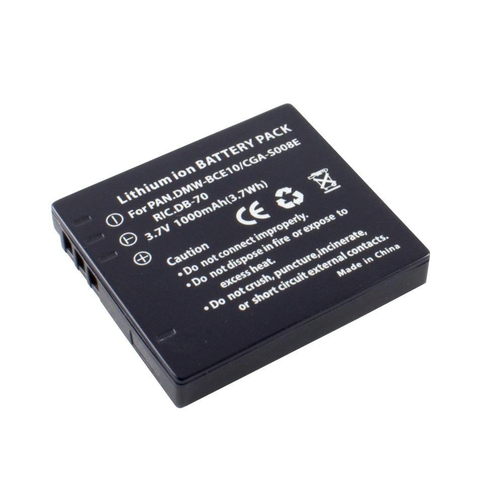 Panasonic CGA-S008E akkumulátor 1000mAh utángyártott