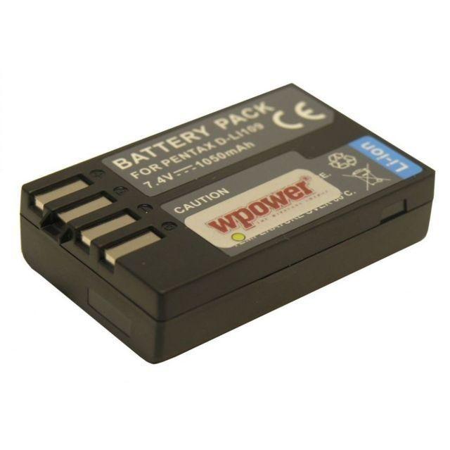 Pentax D-LI109  akkumulátor 1050mAh utángyártott