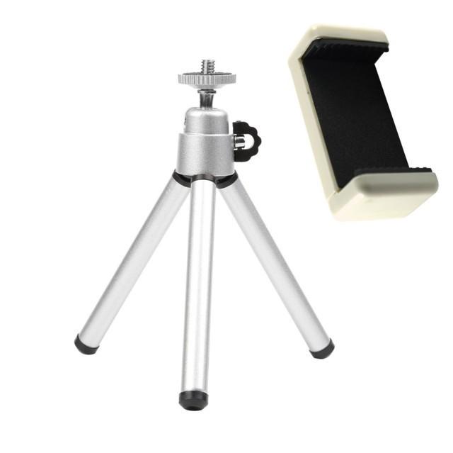 Mini tripod állvány telefonokhoz és fényképezőgépekhez