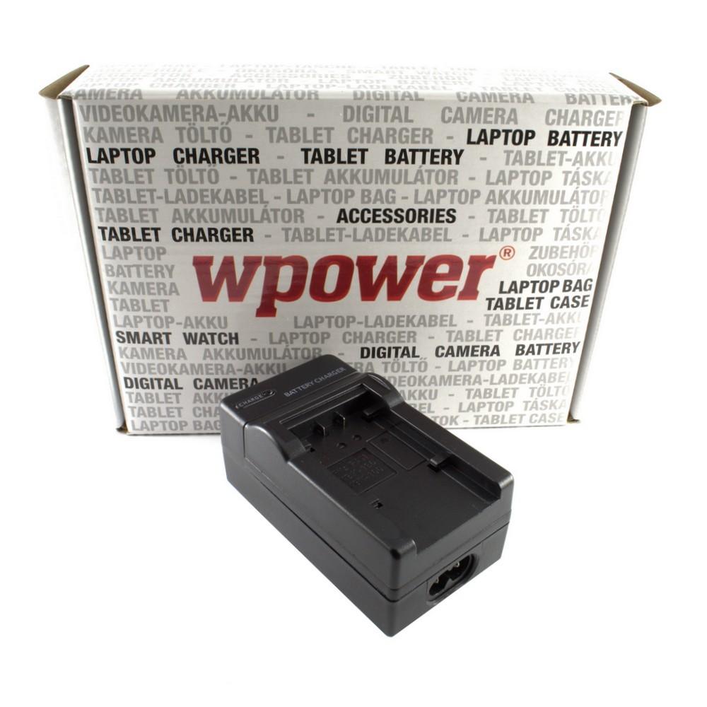 Panasonic VW-VBY100 akkumulátor töltő utángyártott