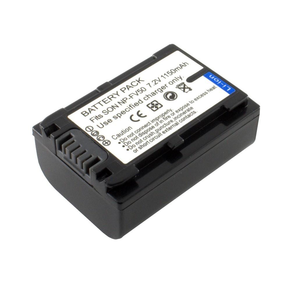 Sony NP-FV50 akkumulátor 1150mAh utángyártott
