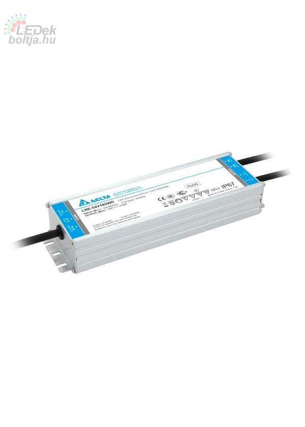 Led tápegység DELTA LNE 185W 54V IP67 dimmelhető