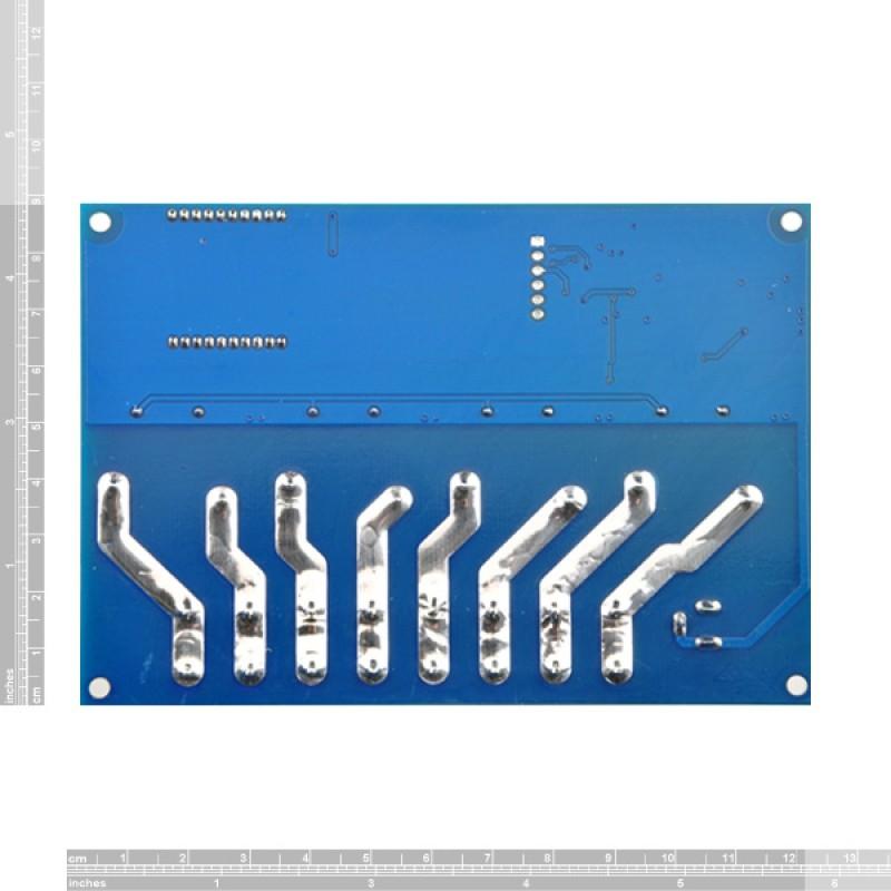 TSRW430 - WIFI távvezérelhető 4 csatornás relémodul házban - 230V 30A Max