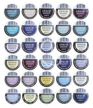 Pentart Dekor Paint Soft lágy dekorfesték 100 ml - olíva