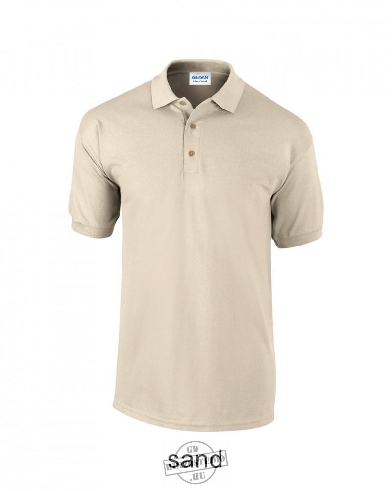 Gildan férfi galléros póló