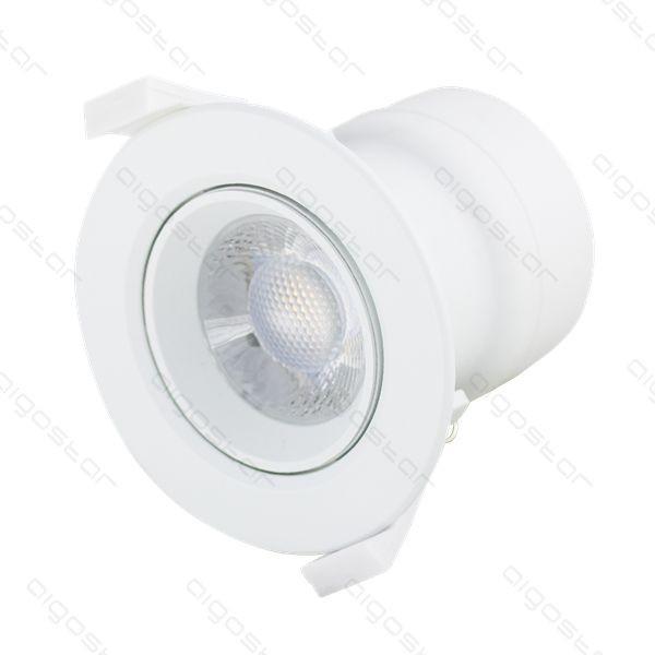 LED beépíthető lámpa E6 7W meleg fehér állítható