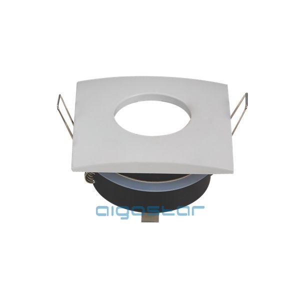 LED spot lámpa beépítő keret TS75S fehér GU10 és MR16-os LED izzókhoz