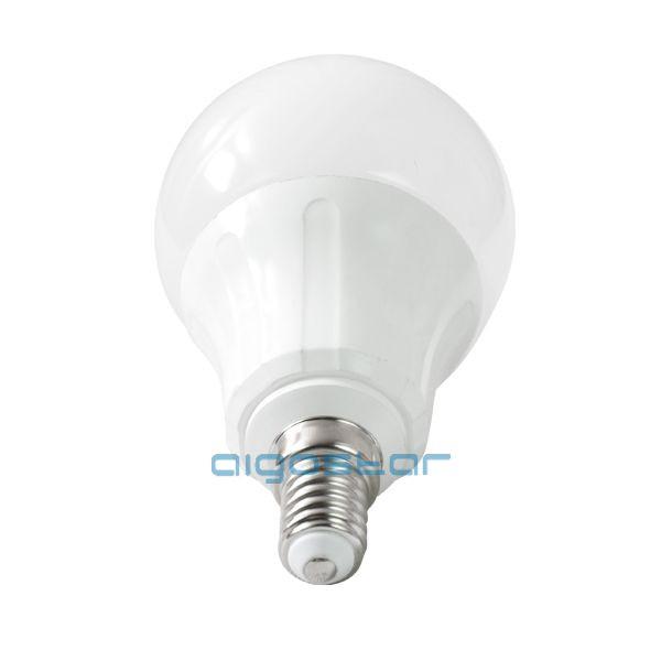 LED izzó A60 E14 6W 280° hideg fehér