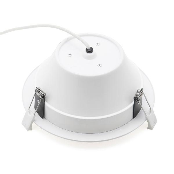 LED beépíthető lámpa E5 Downlight 21W meleg fehér (furat:175mm)