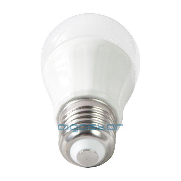 LED izzó P45 E27 6W 280° meleg fehér