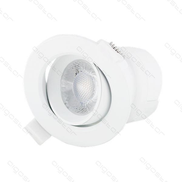 LED beépíthető lámpa E6 7W hideg fehér állítható