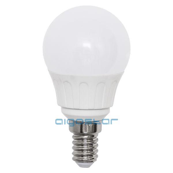 LED izzó G45 E14 4W 280° hideg fehér