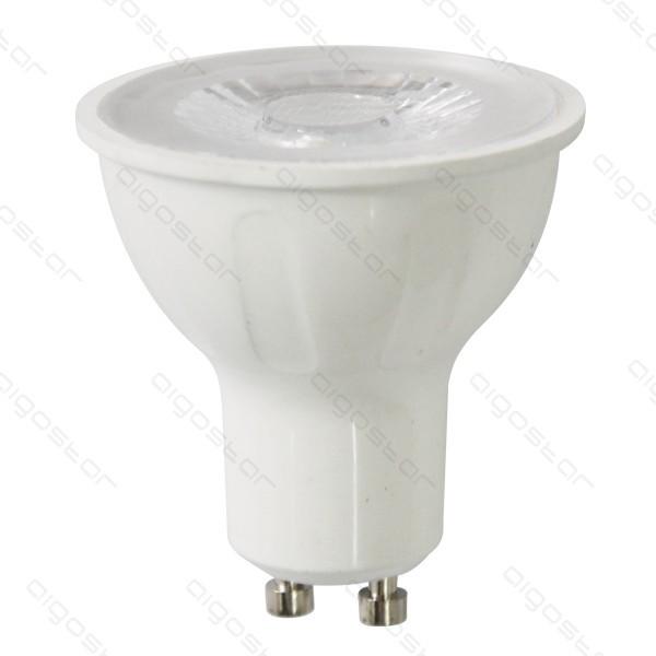 LED izzó GU10 6W COB meleg fehér