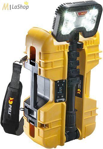 Peli 9490 10 LED es akkumulátoros kézi+teleszkópos lámpa Bluetooth vezérléssel 6000 lm