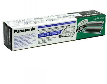 Panasonic KX-FA55X thermo transzfer fólia faxkészülékekhez 2 tekercs / doboz (Panasonic KX-FA55X)