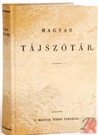MAGYAR TÁJSZÓTÁR