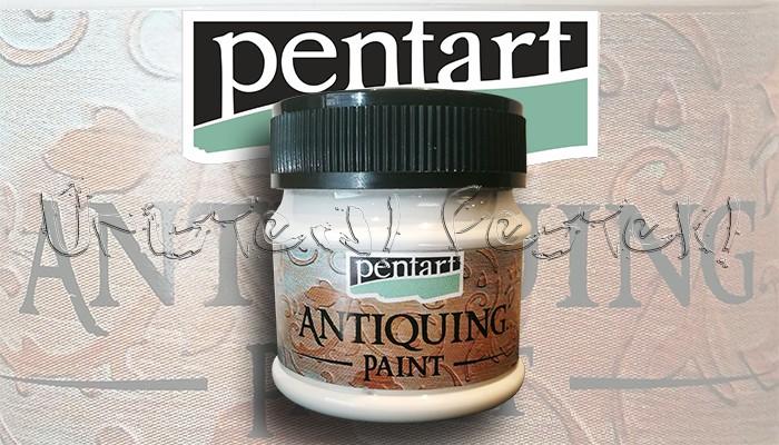 Antikoló festék - Pentart Antiquing Paint 50ml - KÜLÖNBÖZŐ SZÍNEKBEN!