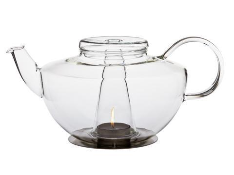 LUMOS teáskanna, beépített mécsessel, 1,2l