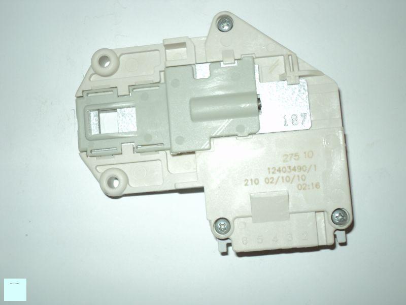 Zanussi - Electrolux - AEG mosógép ajtókapcsoló , ajtóretesz ( 3 pólusú) 124034901/7 Pl.: FL411C