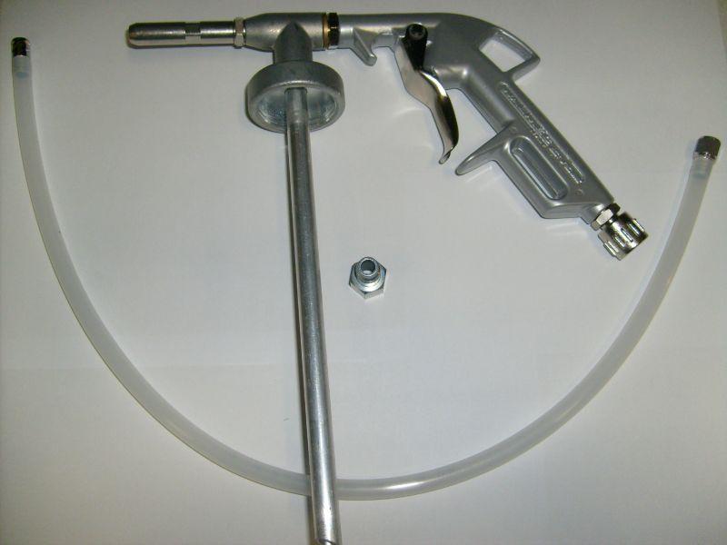 Alvázvédő pisztoly üregvédő csővel