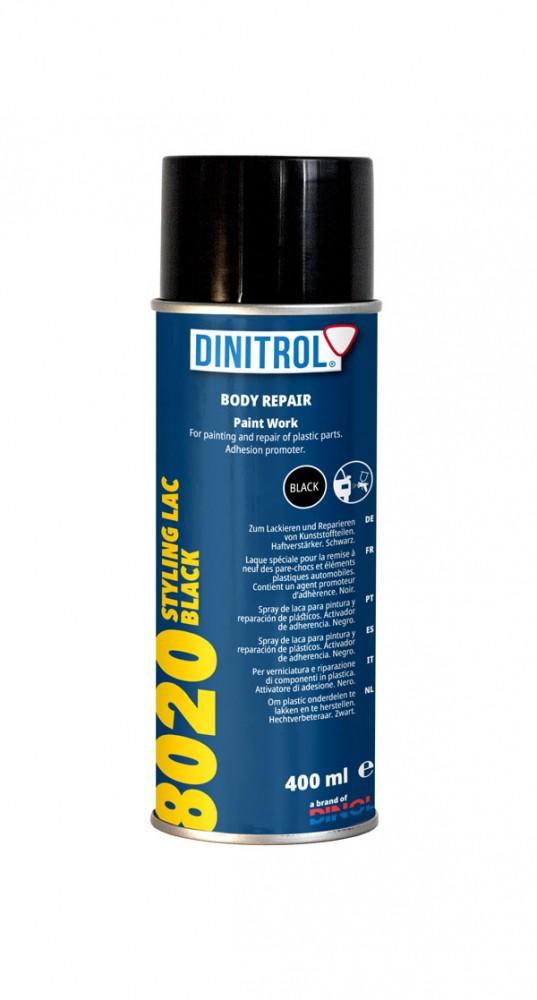Lökhárító fekete spray 8020