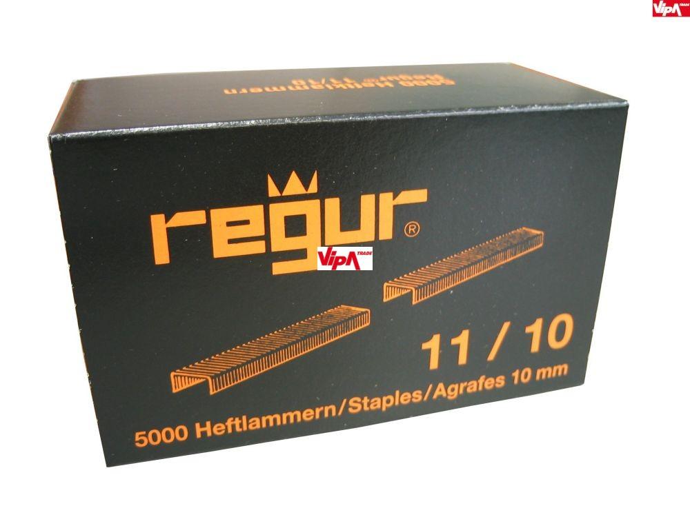 Tűzőkapocs REGUR® 11 Laposhuzal kapocs 11/10mm 5.000 db/doboz
