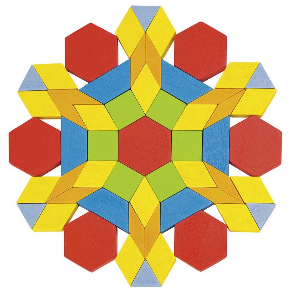 Fa kreatív puzzle