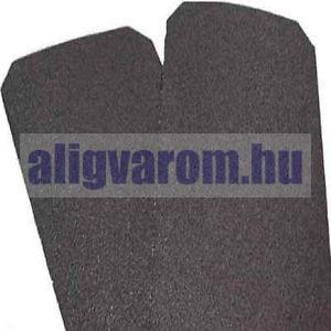 Csúszásgátló csúszásmentesítő szalag 150 mm széles öntapadós vízálló, időjárás álló ragasztós csík öntapadó, fekete színben