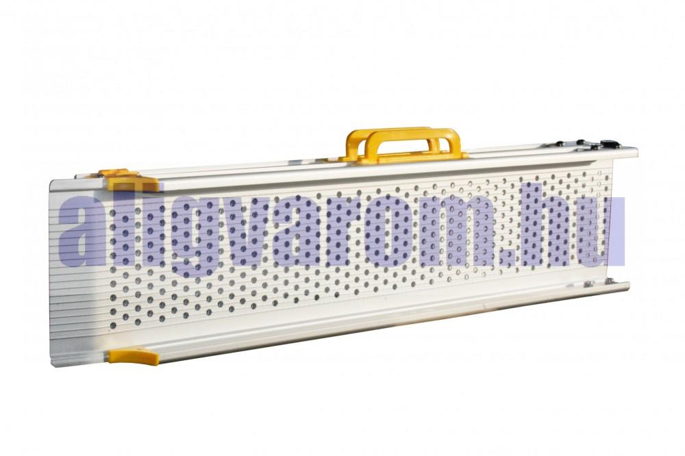 Mobil rámpa 300 cm szétnyitható és még szét is húzható - összetolható rámpa 135 kg/db 270 kg/pár teherbírás.