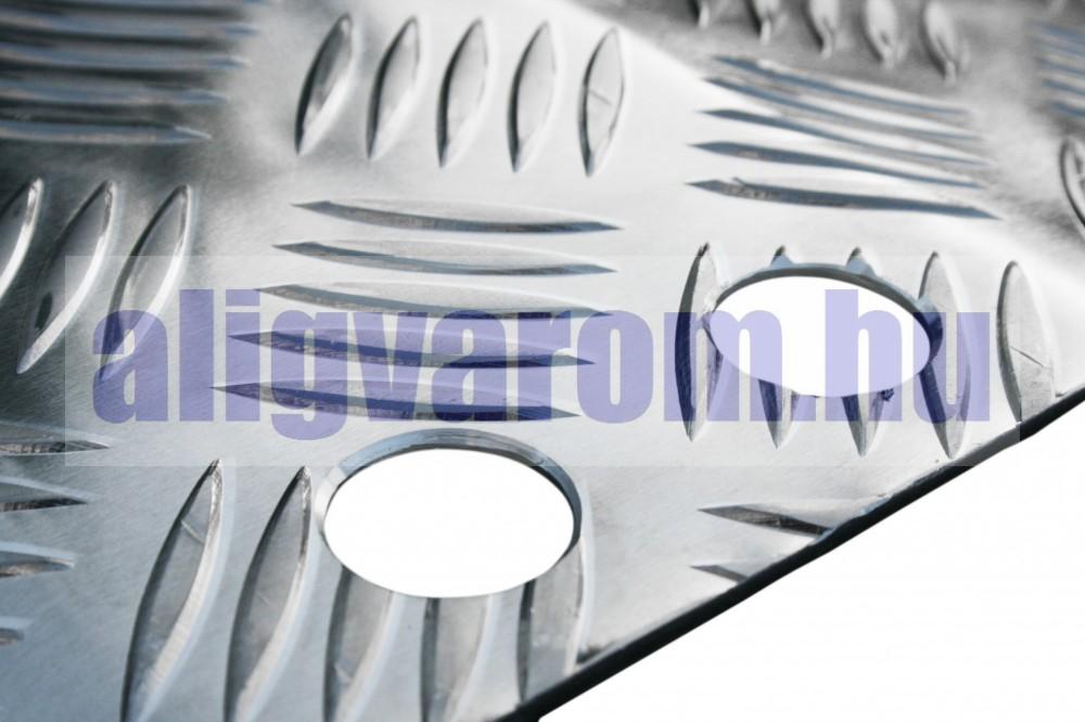 Kétoldalas küszöb áthidaló rámpa 70x81x8,5 cm Akadálymentesítő küszöbrámpa kerekesszék molnárkocsi számára 270 kg teherbírás
