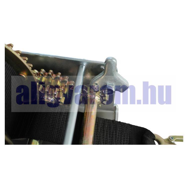 Kézi csörlő hevederes, 900 kg vonóerő