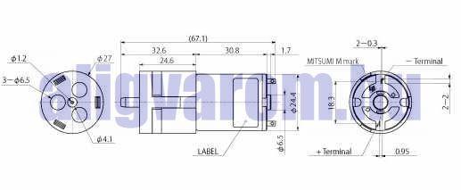 MAP-1704 M25E-6 Kis kompresszor levegőpumpa 6V 0,9 bar légpumpa levegő szivattyú levegős membránszivattyú membrános