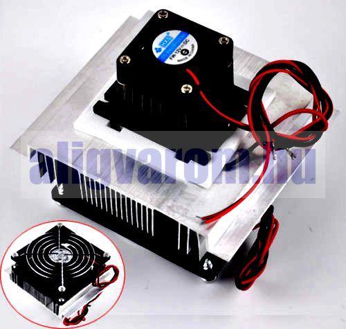 Peltier termoelektromos elem 50x50mm 12V 30W TEC1-12705 hűtő - fűtő elem Kifutó termék, utolsó darabok