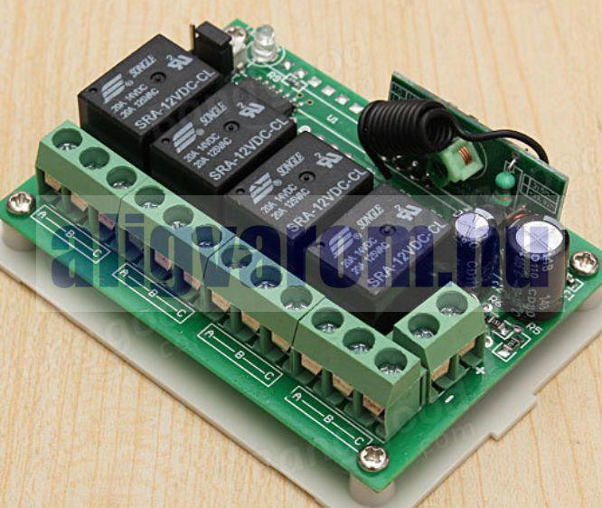 Geek315 Távirányító készlet 315 MHz  + 2 db távirányítóval. Garázsajtó, redőny, beléptető rendszer távvezérlő szett. A 2 db mellé továbbiak rendelhetők