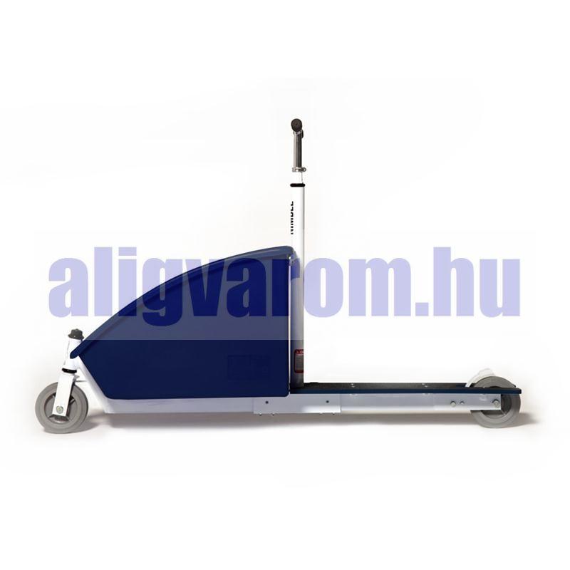 Teherroller teherbírás 136 kg 68 literes puttony. Kézikocsi két keréken! Teherszállító roller.