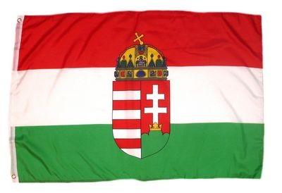 Magyar zászló Kossuth címerrel 60x90 cm kültéri kivitel