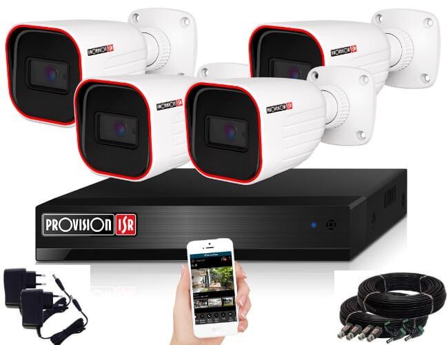 4_MegaPixel_Provision_AHD20_Dome_4_kameras_kamera