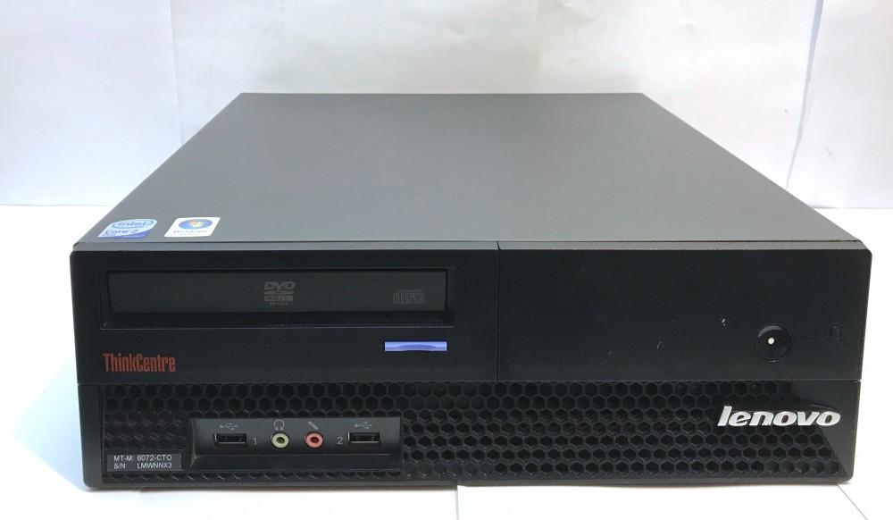 Lenovo M57 SSF számítógép 4 magos számítógép Q9400 4x2.66Ghz 4Gb 160Gb
