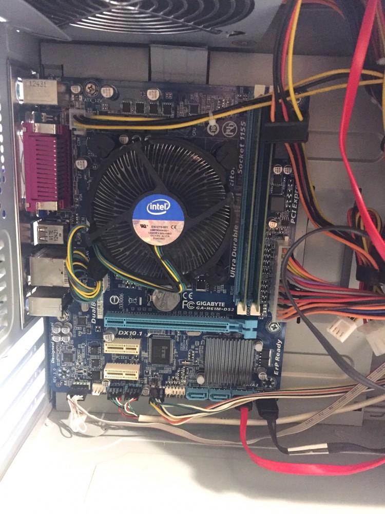 3. generációs i3 3,50Ghz használt számítógép i3-3250 4Gb DDR3 250Gb