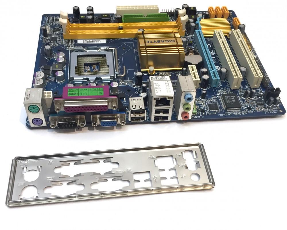 Gigabyte GA-G31M-ES2C LGA775 használt alaplap PCI-e Integált VGA