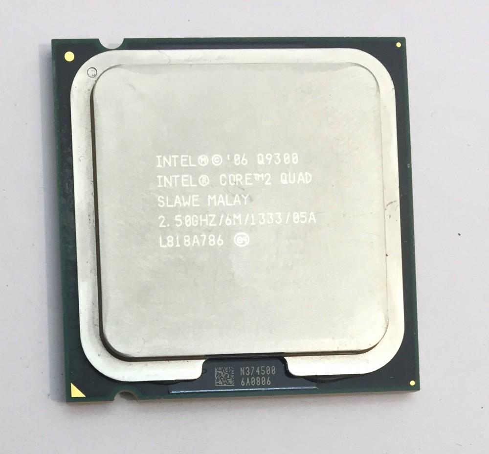 Intel Core 2 quad Q9300 4 magos 2,50Ghz Processzor LGA775 1333Mhz FSB 6Mb L2 SLAWE