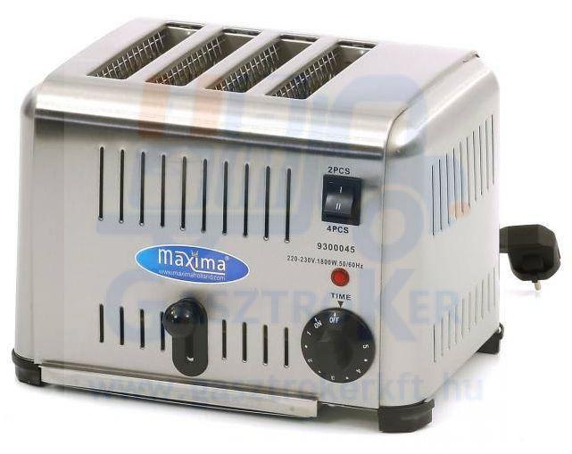 Maxima MT-4 toaster- kenyérpirító