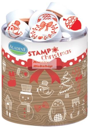 Nyomdakészlet - Kis Karácsony, nagy Karácsony (festékpárnával)