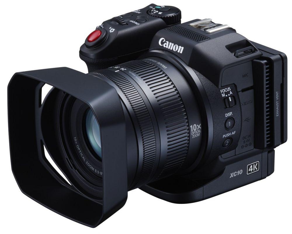 Canon XC10 (4K) kompakt videokamera + ajándék*