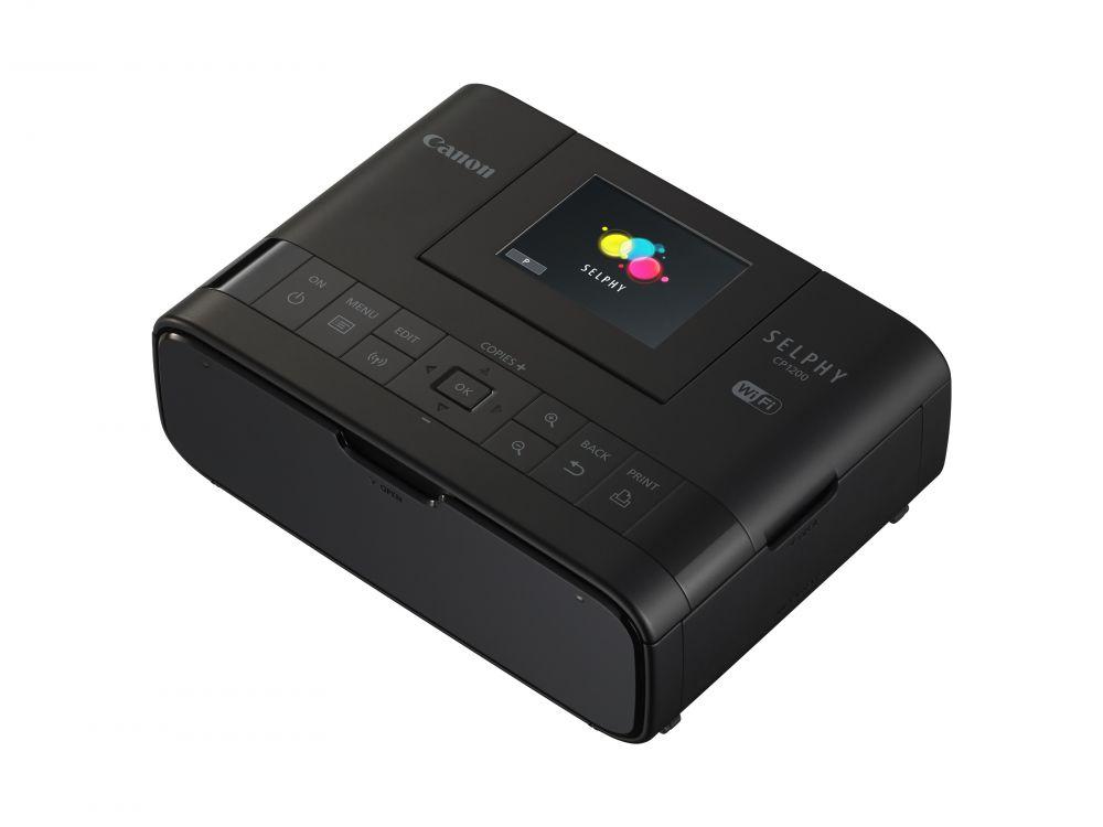 Canon SELPHY CP1200  fotónyomtató (fekete) (Wi-Fi)
