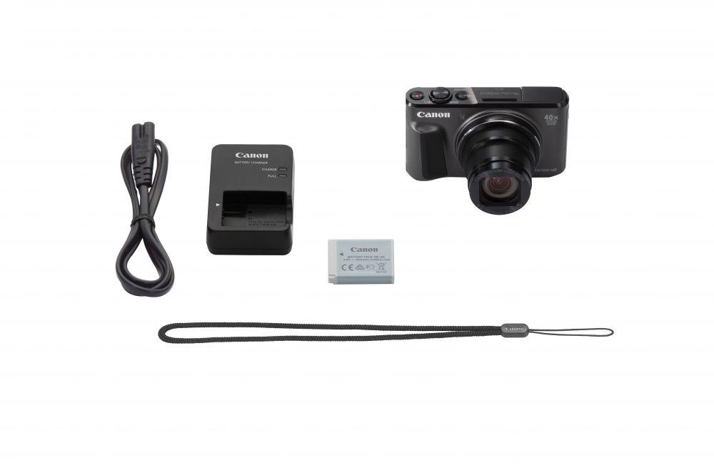 Canon PowerShot SX720HS (2 színben) (fekete)