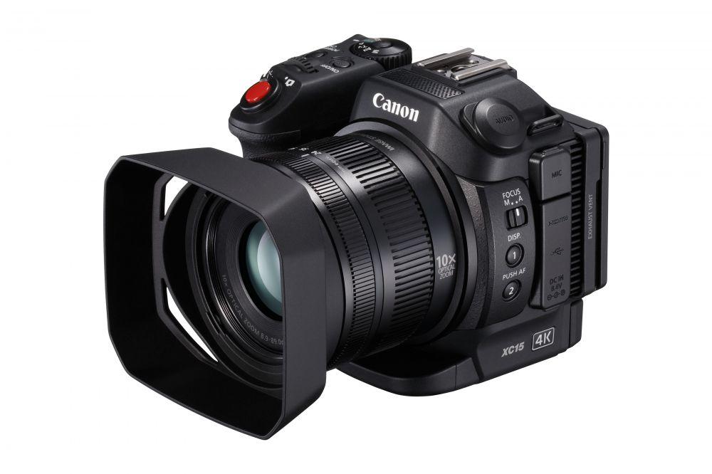 Canon XC15 (4K) kompakt videokamera