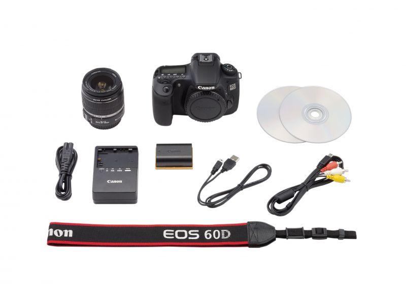 Canon EOS 60D + EF-S 18-55mm / 4-5.6 IS II